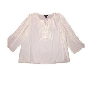 Jessica Simpson Peasant Boho Top